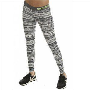 Women's Nike Pro Warm 8 Bit Tight Leggings